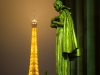 Eifelturm - Beside the tower the illuminations are art for itself/ Copyright Tour Eiffel - Illuminations Pierre Bideau.