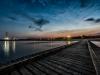 Sonnenuntergang-Adria