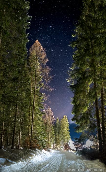 Sternenfotos Zugspitze