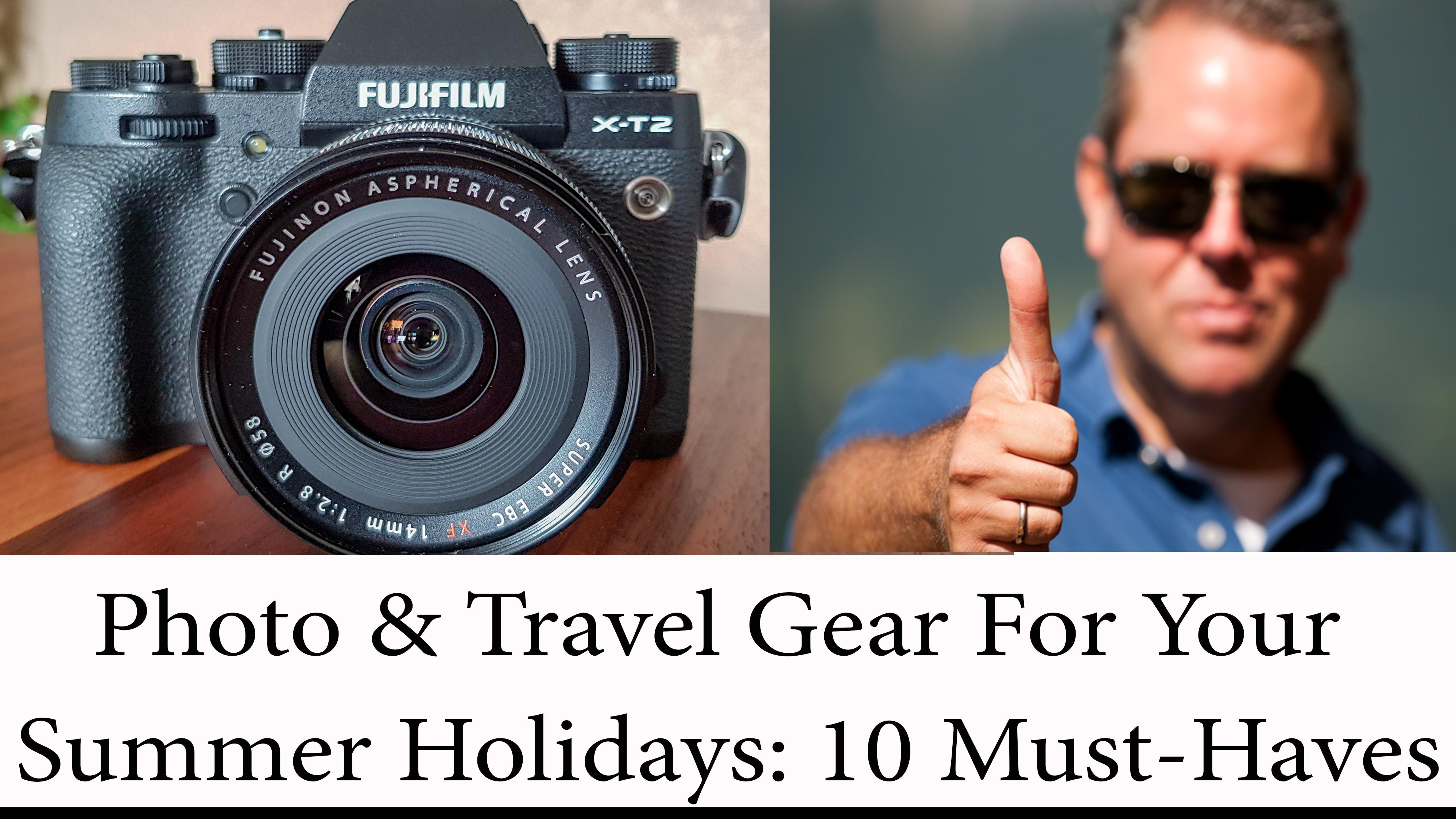 Photo und Travel Photo Gear für Deinen Sommerurlaub