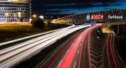 Nachtfotos Boschparkhaus A8 Stuttgart